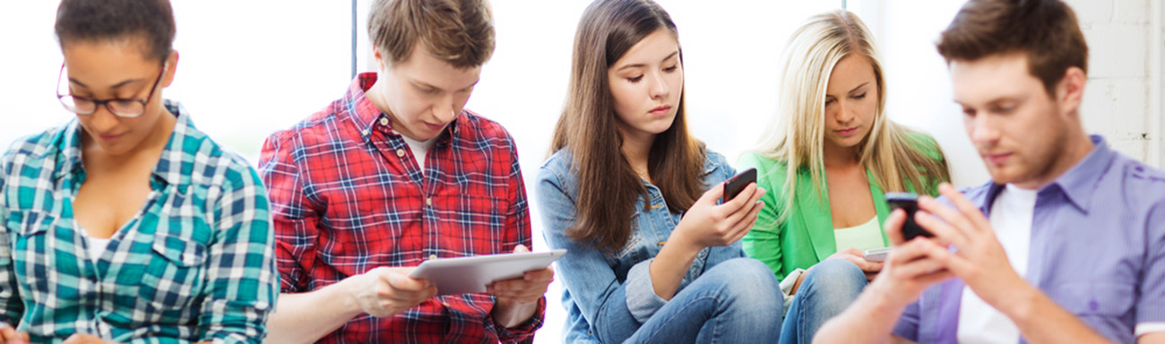 Boosting mobile signal in your home_ kids using mobile phones