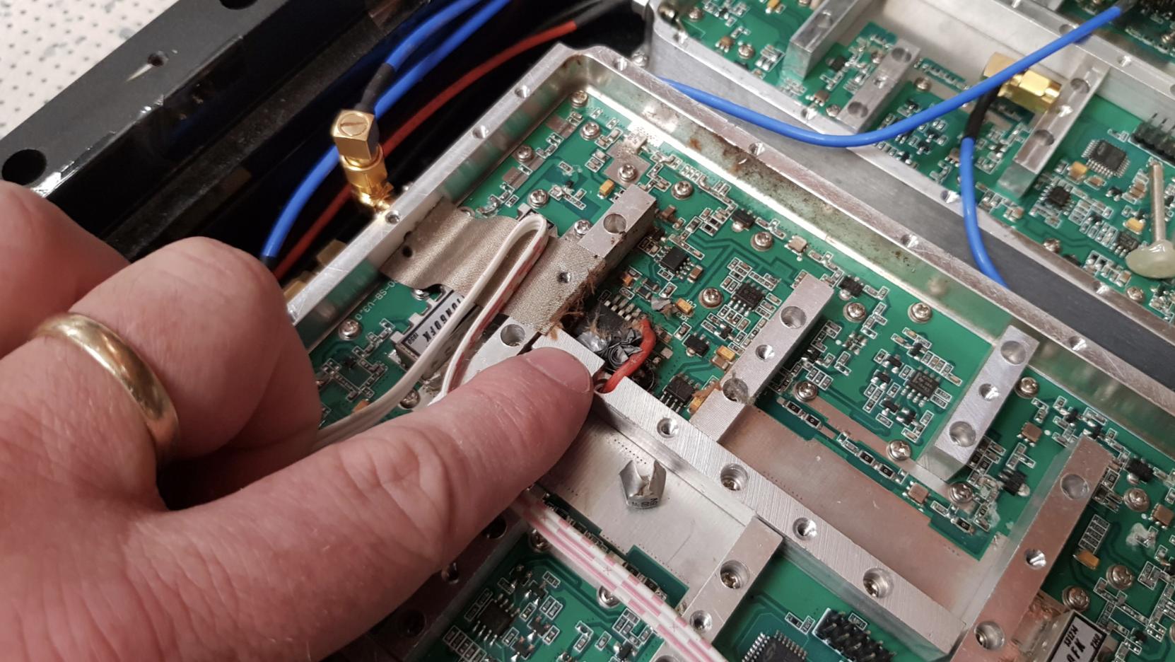 Composant défectueux dans un amplificateur illégal